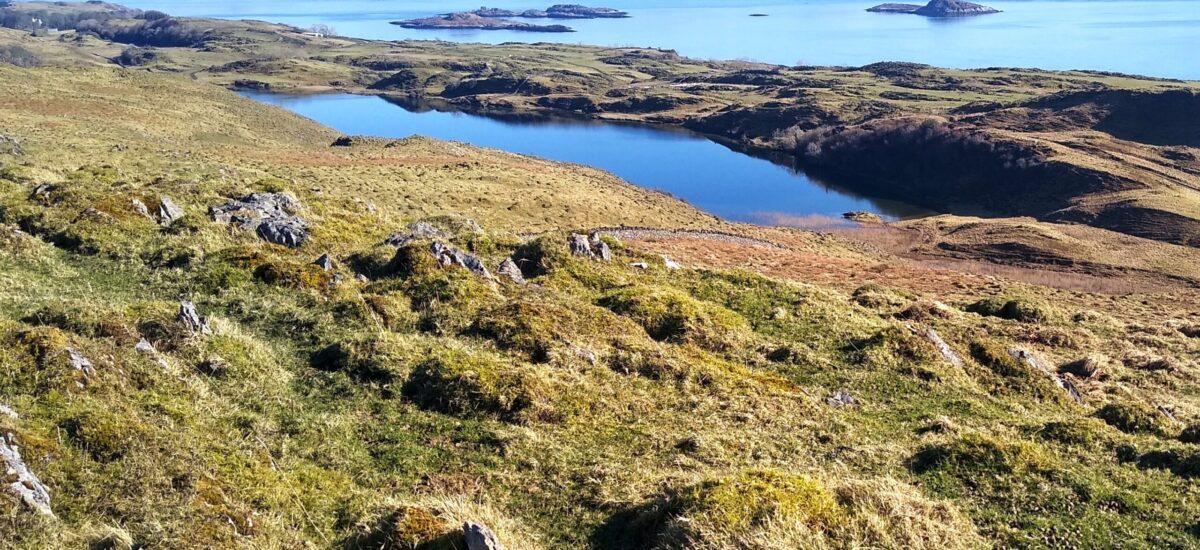 Loch Fiart from the ridge